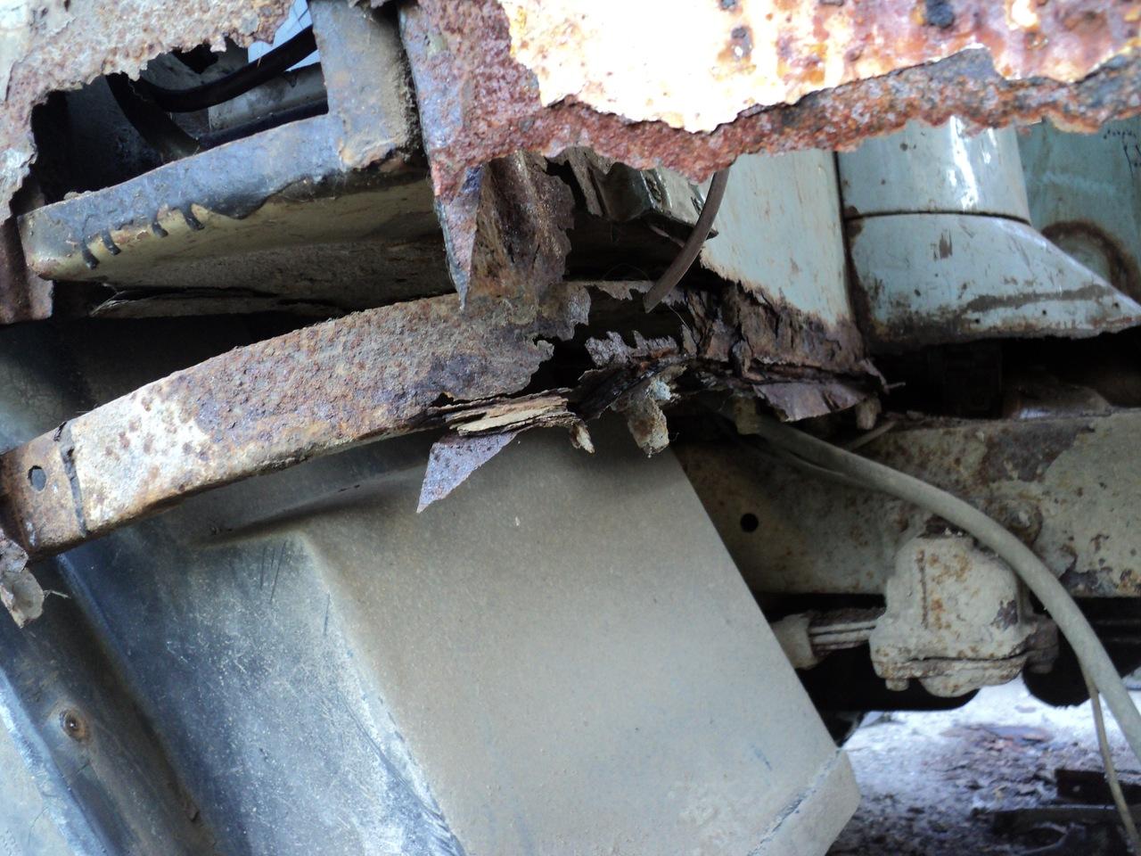 Ремонт кузова УАЗ 469 своими руками без сварки 95