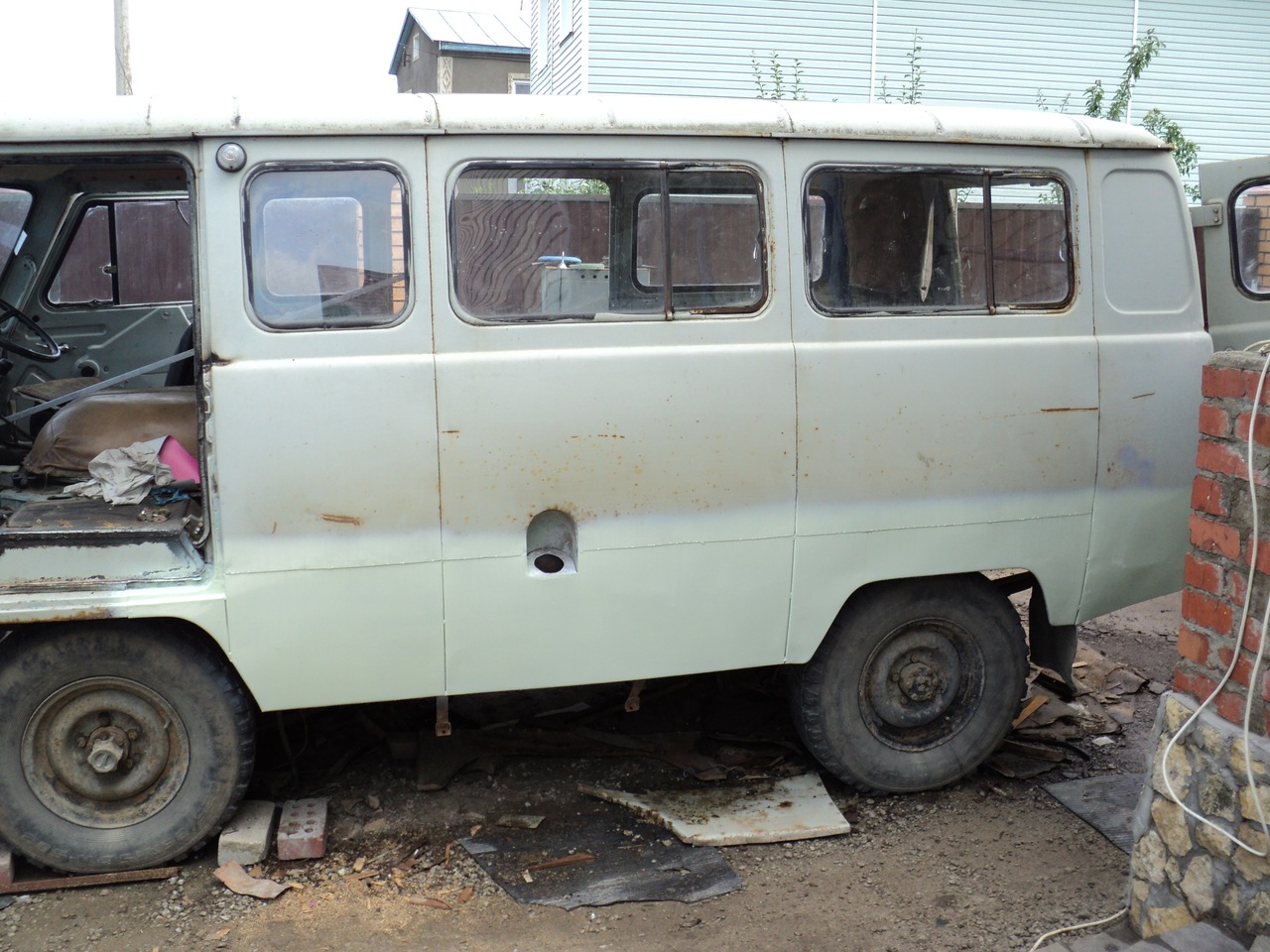 Ремонт кузова УАЗ 469 своими руками без сварки 89