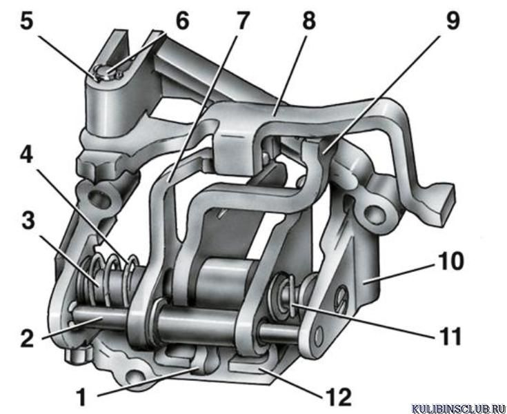 Фото №2 - механизм выбора передач ВАЗ 2110 неисправности