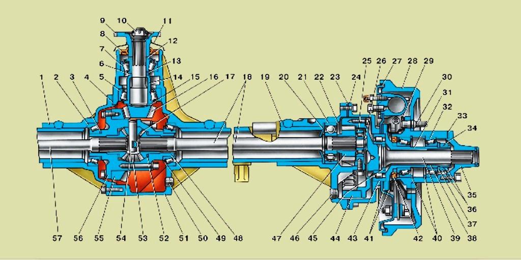 Коронная шестерня бортовой передачи XCMG LW500F, купить.