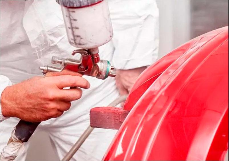 Как самостоятельно покрасить бампер