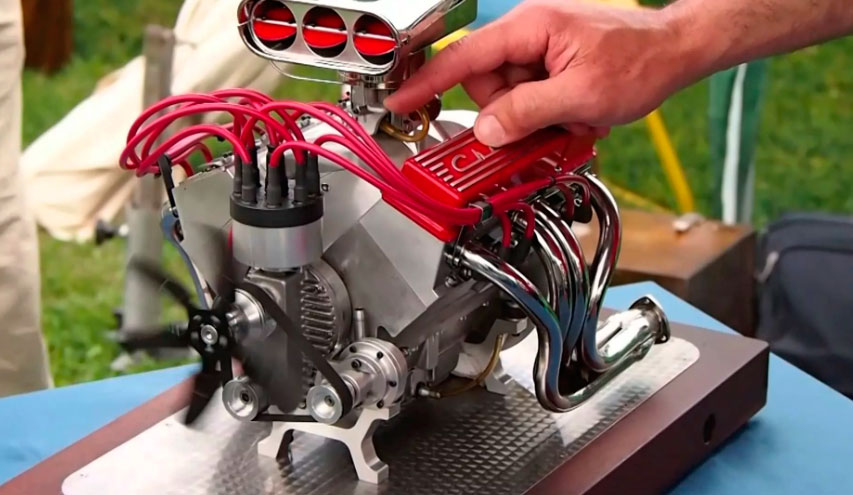 Как восстановить маленький двигатель