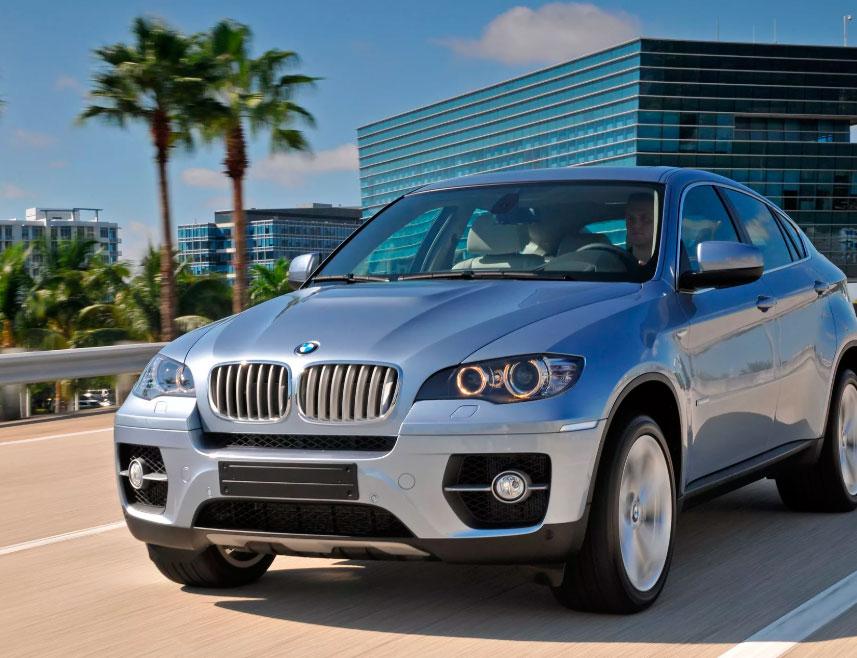 BMW X6 ActiveHybrid: описание и характеристики