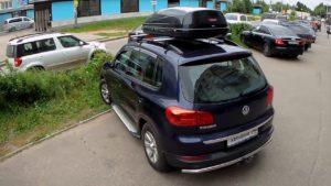 Выбираем багажник на крышу Volkswagen Tiguan