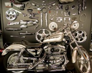 Запчасти для мотоцикла HARLEY DAVIDSON