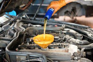 Правильная замена моторного масла